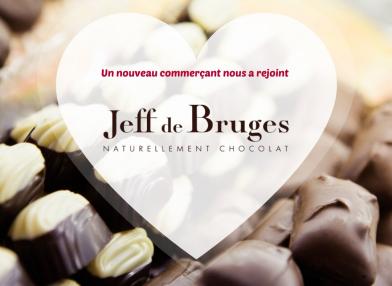 Nouveau commerçant : Jeff de Bruges