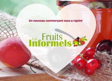 Nouveau commerçant : Les fruits informels