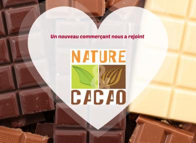 Nouveau commerçant : Nature et Cacao