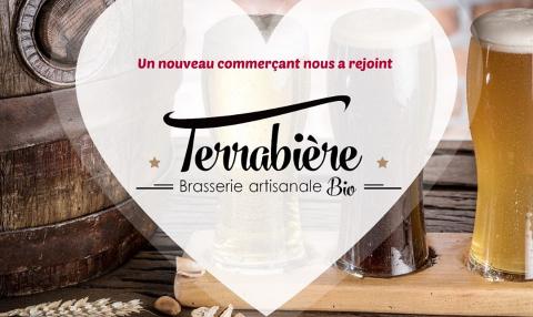 Nouveau commerçant : Terrabière