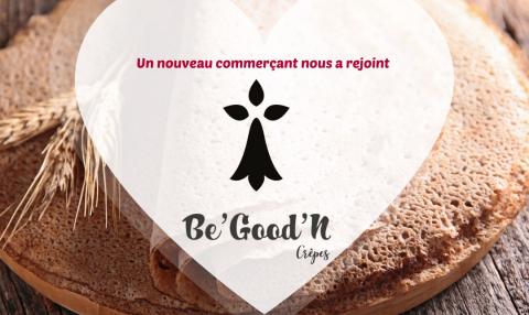 Nouveau commerçant : Be'Good'N Crêpes