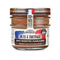 Image Pâte à tartiner lait noisettes 100% Française 250 gr