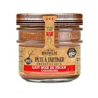 Image Pâte à tartiner lait noix de pécan caramélisées 250 gr