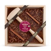 Image chocolat à casser 400 gr chocolat noir Malakoff