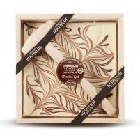 Image chocolat à casser chocolat blanc marbré  400 gr