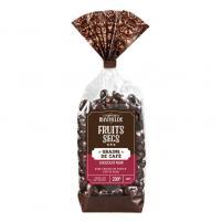 Image Grains de café  enrobés chocolat noir 200 gr