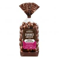 Image Perles chocolat lait  feuilletine 200 gr
