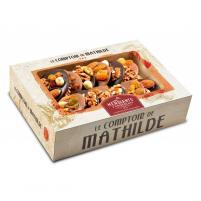Image Coffret mendiants 2 chocolats 200 gr
