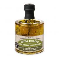Image préparation culinaire à base d'huile d' olive aux herbes de Provence 250 ml