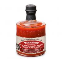 Image Préparation culinaire à base de vinaigre à la pulpe tomate,poivron et fleur de sel de céleri 250 ml