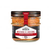 Image Moutarde 250 gr piment d' espelette