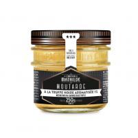 Image Moutarde 250 gr à la truffe noire aromatisée 1%