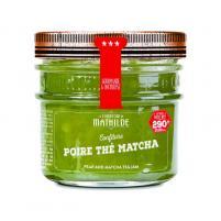 Image confiture  poire thé matcha 290 gr