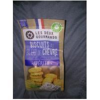 Image Biscuits apéritifs Bleu de chèvre 150g