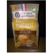 Image Biscuits apéritifs à la moutarde de Meaux 150g