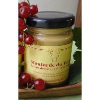 Image Moutarde du Vexin aux 4 fruits rouges 100g