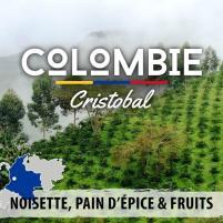 Image café en grain colombie - san cristobal - crible 18+ 250g