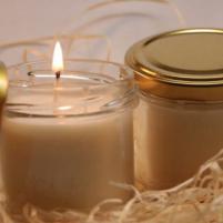 Image Bougie parfumée Nectarine jaune 75g