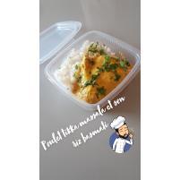 Image Poulet tikka massala et riz basmati