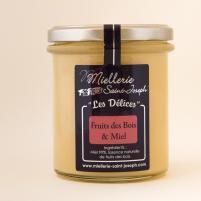 """Image """"Les Délices"""" Fruits des bois & Miel 400G"""