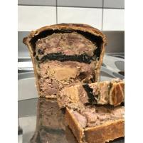 Image Paté en croûte de sanglier et foie gras