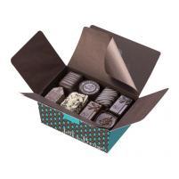 Image Ballotin de 375g - Chocolats noirs