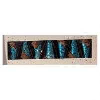 Image Étui de 7 cornets bleus - 120g