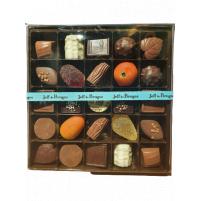 Image Boite spécialité GM garnis de chocolat et assortis pâtes de fruit et pâtes d'amandes