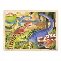 Image Puzzle dinosaures 24 pièces