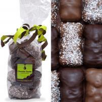 Image 18 Oursons Guimauve enrobés de chocolat noir, de chocolat au lait et de chocolat au lait et coco râpée