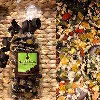 Image Mendiants mélange vitalité noix et amandes chocolat noir 150g