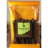 Image 20 Orangettes : zestes d'orange enrobés de chocolat noir