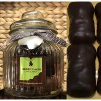 Image Bonbonnière 18 oursons Guimauve enrobés de Chocolat noir