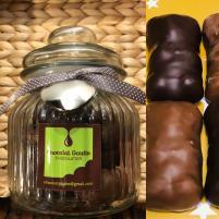 Image Bonbonnière 18 Oursons Guimauve enrobés de Chocolat au lait et de chocolat noir 12€